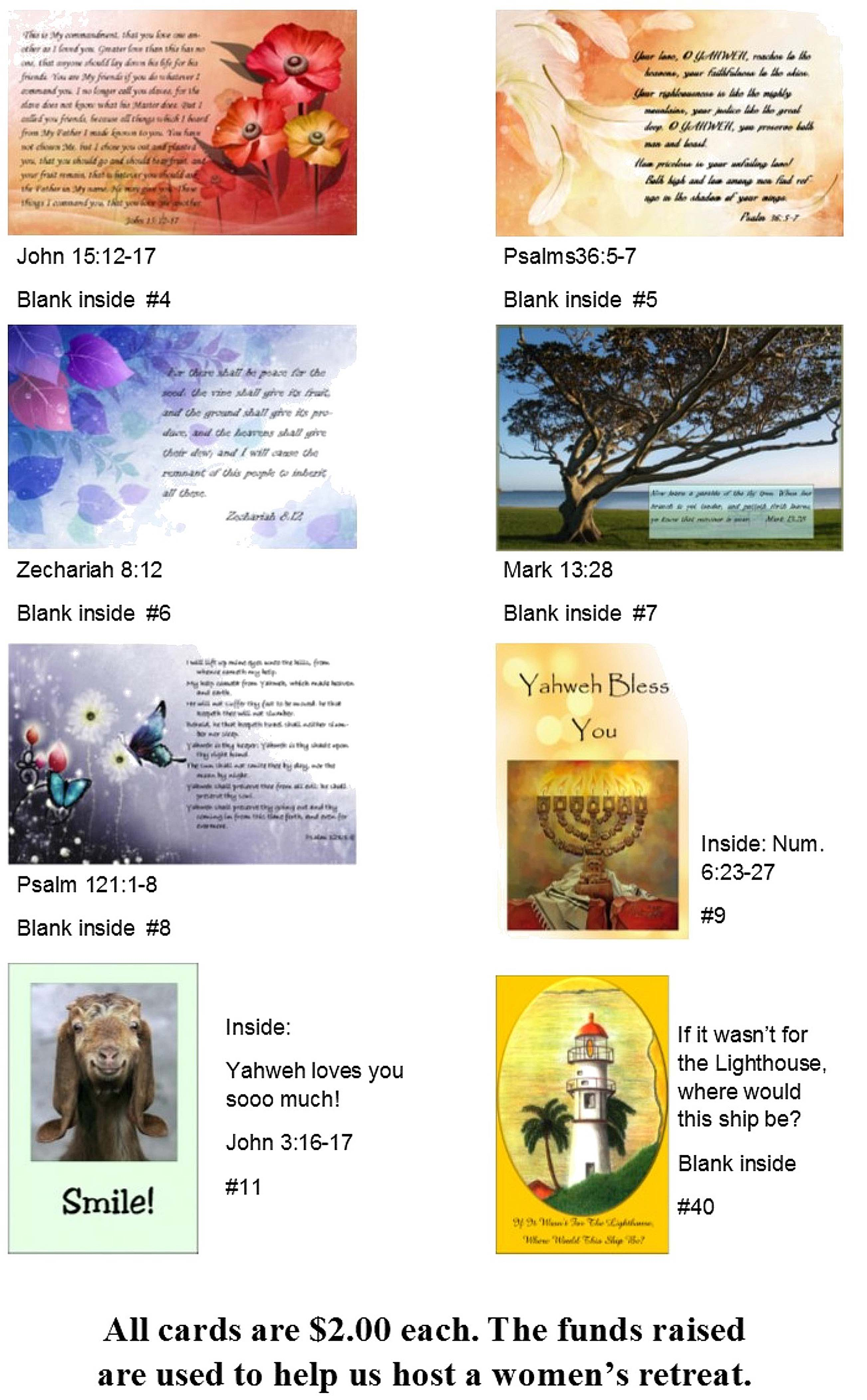 Greeting cards please contact us here to order a complete catalog of cards and thank you for your support m4hsunfo