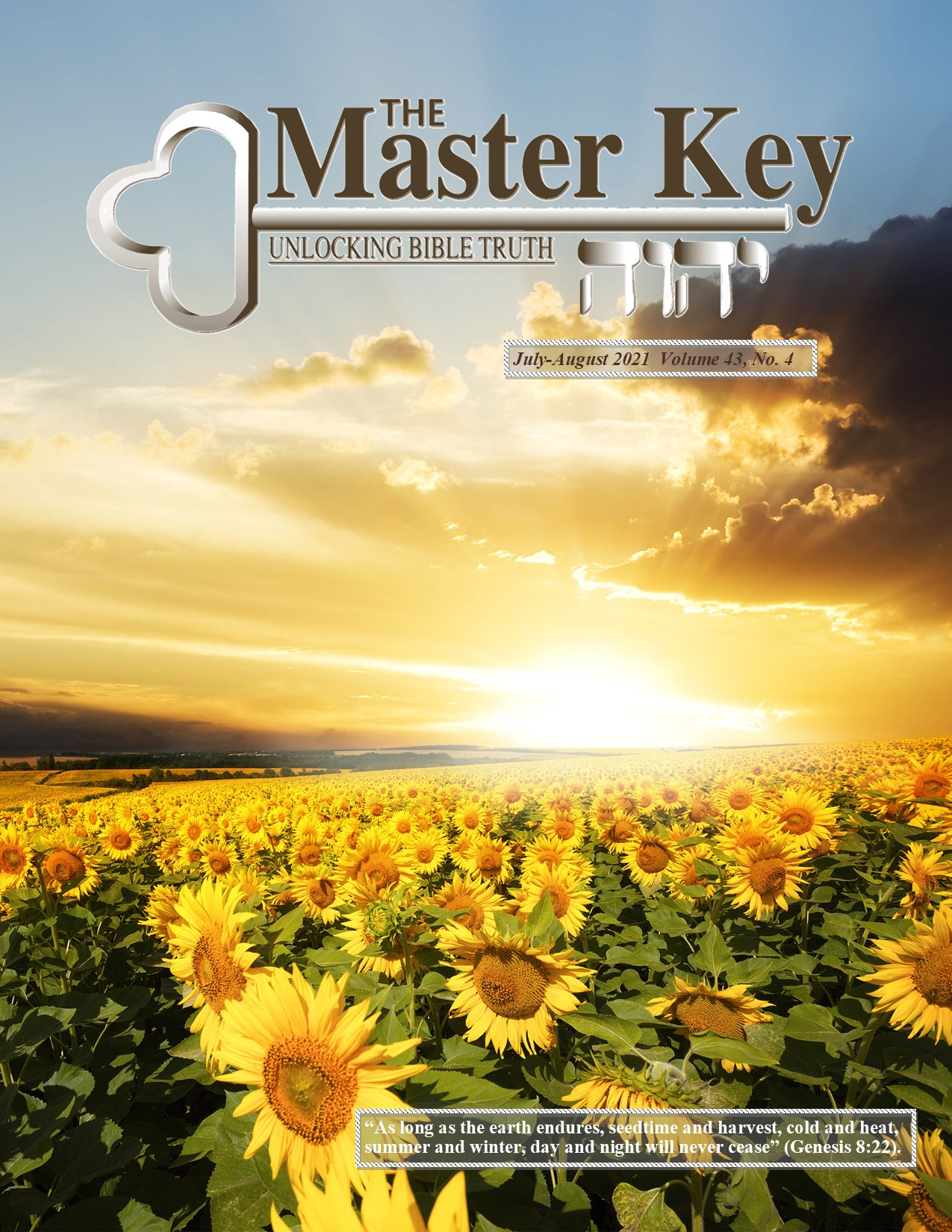 July August 2021 Master Key
